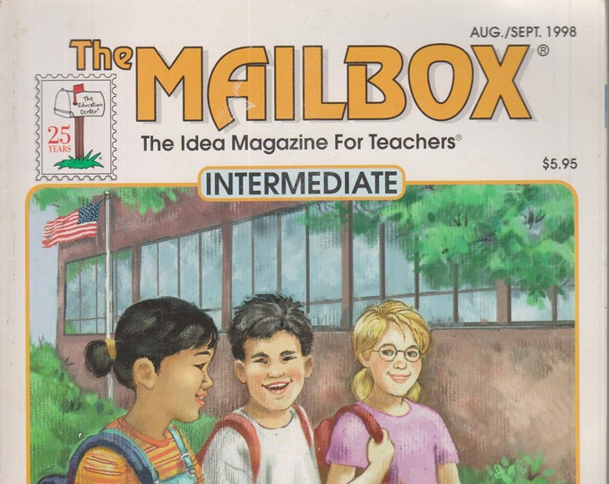 The Mailbox Intermediate August September 1998 Helping Students Get Organized, Study Skills, Writing  (Magazine:  Educational, Teaching)