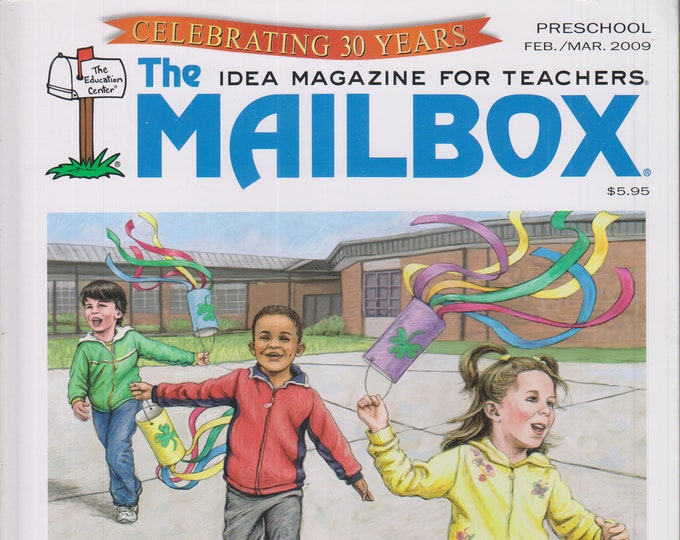 The Mailbox Preschool February March 2009 Dinosaurs, Wind, Nursery Rhyme Centers, Literacy (Magazine: Children's,  Educational, Teaching)