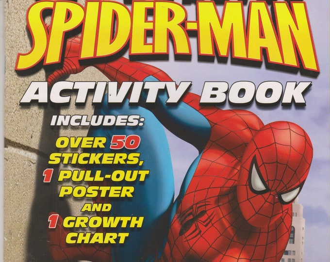 Marvel: The Amazing Spider-Man Activity Book (Over 50 Stickers, Pullout Poster, Growth Chart) 2006