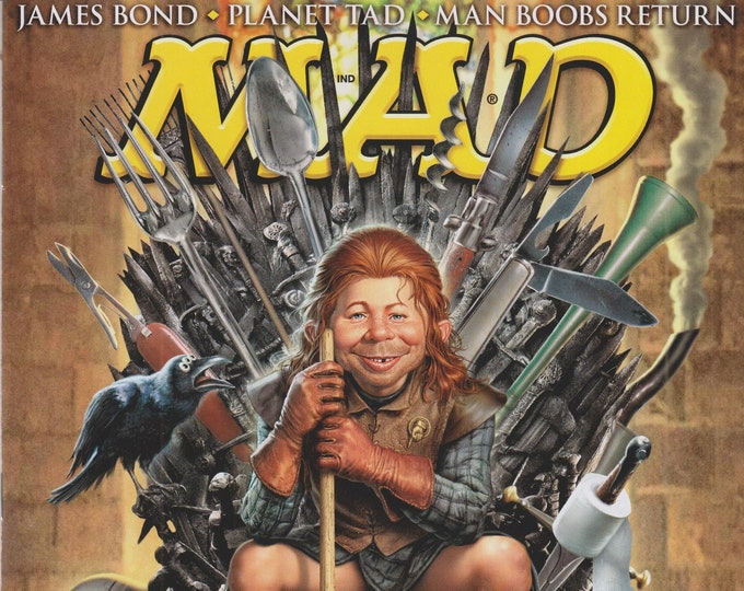 Mad Magazine #521 June 2013 We Plunge Into Game of Thrones (Magazine: Humor, Comic, Satire)