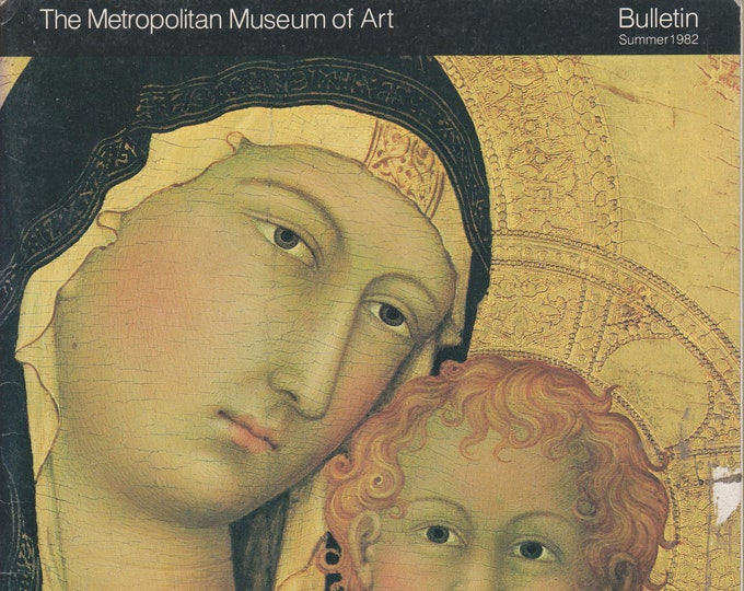 Fourteenth Century Italian Altarpieces  The Metropolitan Museum of Art Bulletin Summer 1982 (Staplebound, Art, Fine Arts) 1982