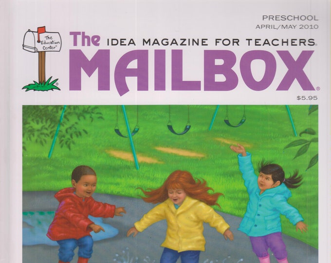 The Mailbox Preschool April May 2010 Zoo, Trees, Rain Centers, Letters and Sounds  (Magazine: Children's,  Educational, Teaching)
