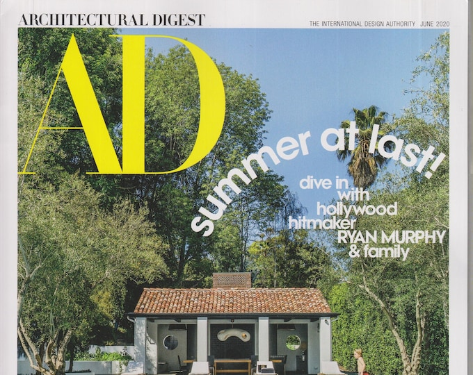Architectural Digest  June 2020 Summer at Last! (Magazine: Home Decor)