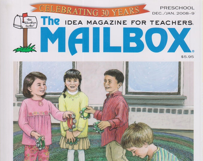 The Mailbox Preschool  December 2008 January 2009 Holiday Traditions, Celebrating Our Differences   (Magazine:  Educational, Teaching)