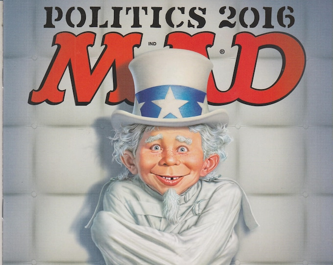 Mad Magazine #542 December 2016 - Politics 2016 (Magazine: Humor, Satire)