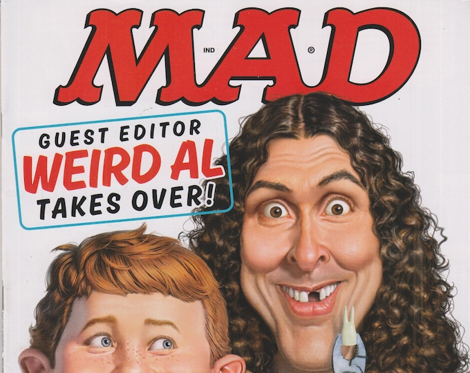 Mad Magazine #533 June 2015 Guest Editor Weird Al Yankovich Takes Over!  (Magazine, Humor, Comic)