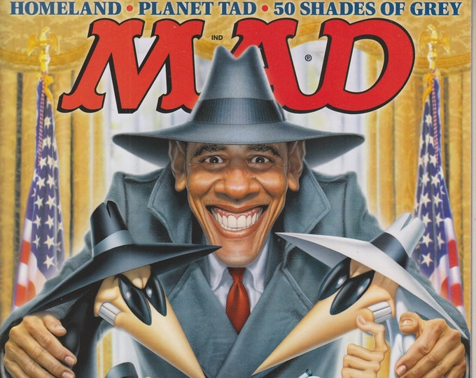 Mad Magazine #523 October  2013 Barack Obama Special War on Privacy Issue (Magazine: Humor, Comic, Satire)