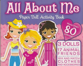 All About Me Paper Doll Activity Book (Softcover: Children's Paper Dolls) 2012
