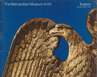 A Bicentennial Treasury: American Masterpieces from The Metropolitan Museum of Art Bulletin Winter 1975/1976 (Staplebound, Art, Fine Arts)