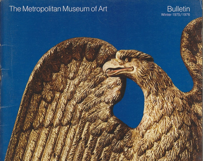 A Bicentennial Treasury - American Masterpieces from The Metropolitan Museum of Art Bulletin Winter 1975/1976 (Staplebound: Art, Fine Arts)