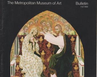 Giovanni di Paolo  The Metropolitan Museum of Art Bulletin Fall (Staplebound: Art, Fine Arts)  1988