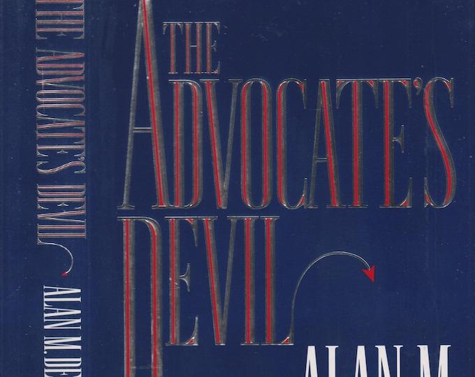 The Advocate's Devil  by Alan M Dershowitz  (Hardcover: Fiction, Legal Drama) 1994