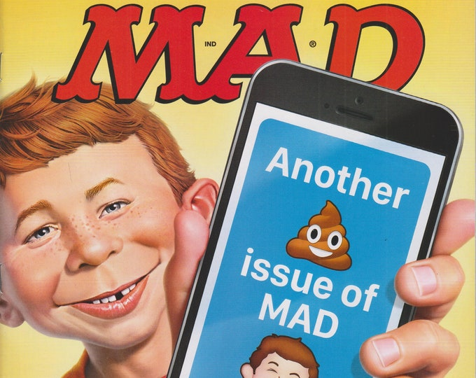 Mad Magazine #541 October 2016  Another Poop Issue of Mad  (Magazine: Humor, Comic, Satire)