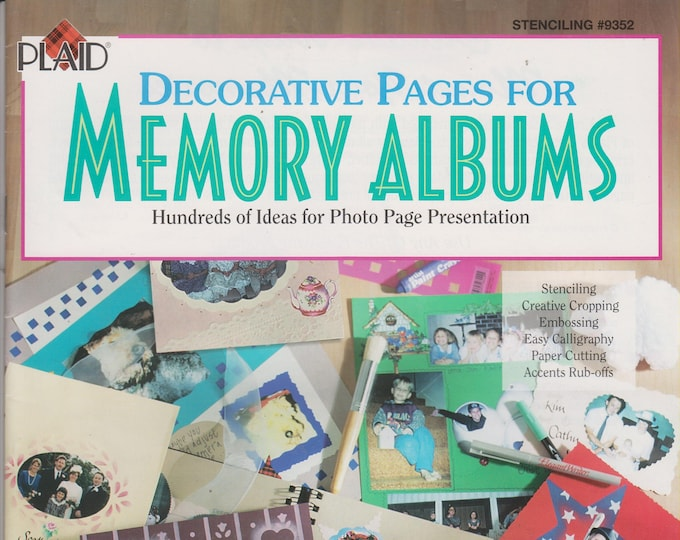 Plaid Decorative Pages for Memory Albums (Staple bound: Crafts, Scrapbooking) 1997