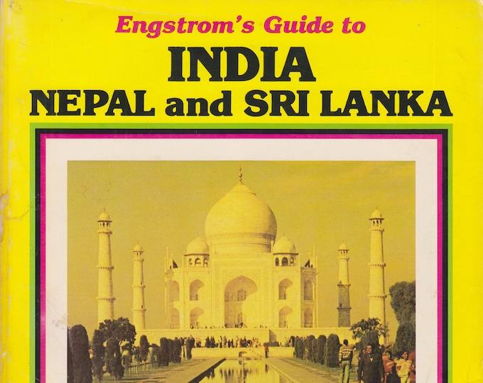 India, Nepal, and Sri Lanka (Engstrom's  Guides) (Softcover: Travel,  India,  Nepal, Sri Lanka)  1981
