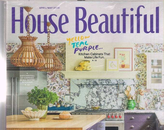 House Beautiful April May 2020 Color Inspiration (Magazine: Home Decor)
