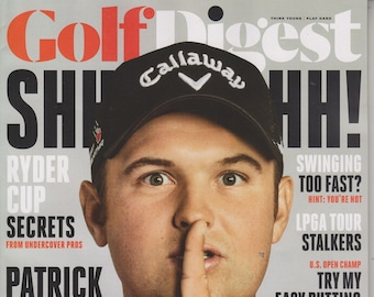 Golf Digest September 2016 Patrick Reed How to Dominate Your Driver  (Magazine: Golf)