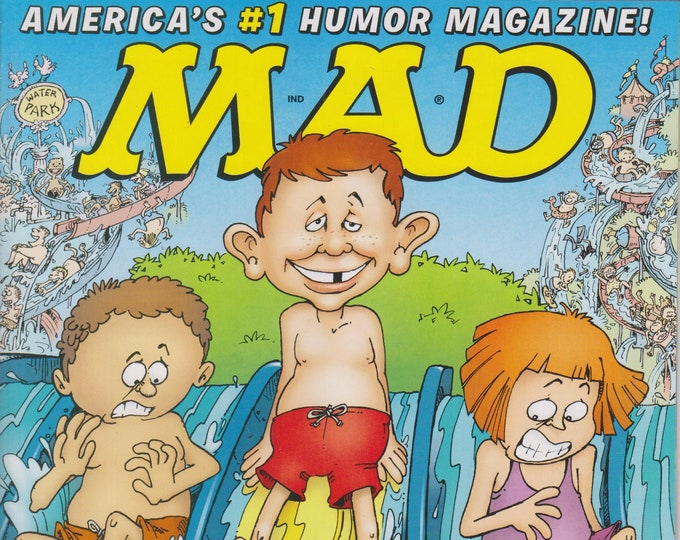 Mad Magazine #522 Water Parks America's #1 Humor Magazine  (Magazine: Humor, Comic, Satire)