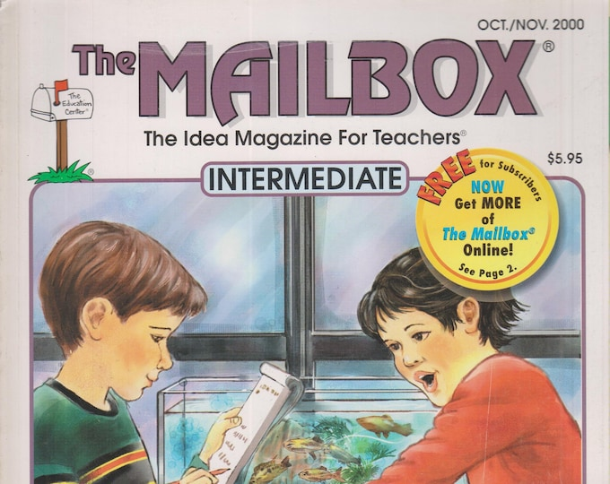The Mailbox Intermediate October November 2000 Editing and Proofreading, Measuring, Geography, Birthdays (Magazine:  Educational, Teaching)