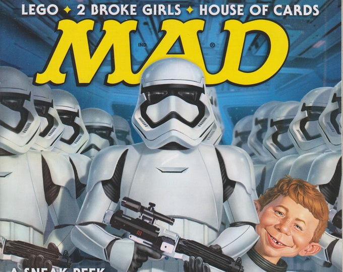 Mad Magazine #532 April 2015 A Sneak Peak at the New Star Wars (Magazine, Humor, Comic, Satire)