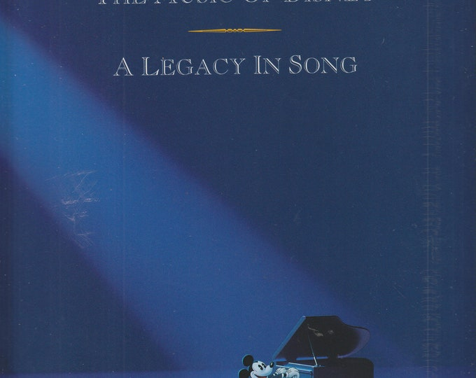 The Music of Disney - A Legacy in Song (Softcover: Disney, Music)  1992