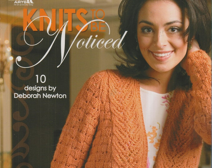Knits to be Noticed (Softcover: Crafts, Knitting)  2008