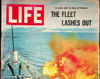 Life August 6, 1965 Vietnam,  Mars, Russia, Patrick Hemingway in Africa, Spain's Beatnik Bullfighter (Magazine: History, News)