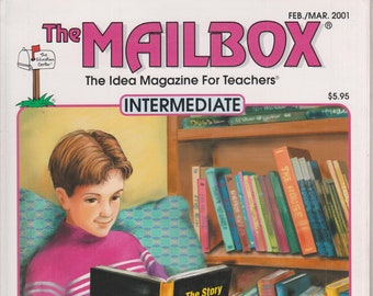 The Mailbox Intermediate February March 2001 Graphic Organizers, Black History Month, Circles, Homework  (Magazine:  Educational, Teaching)