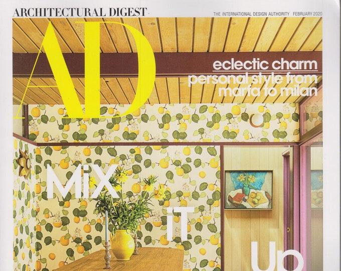 Architectural Digest February 2020 Mix It Up - Seoul Sensation (Magazine: Home Decor)