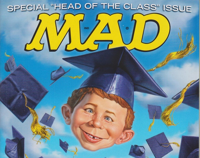"Mad Magazine #527 June 2014 Special ""Head of the Class"" Issue (Magazine: Humor, Comic, Satire)"