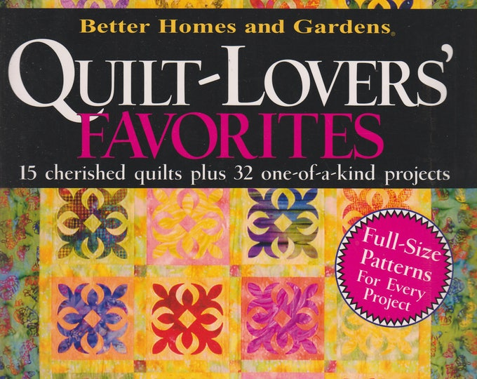 Better Homes and Gardens Quilt-Lovers' Favorites Vol. 4 (Softcover, Crafts)  2004