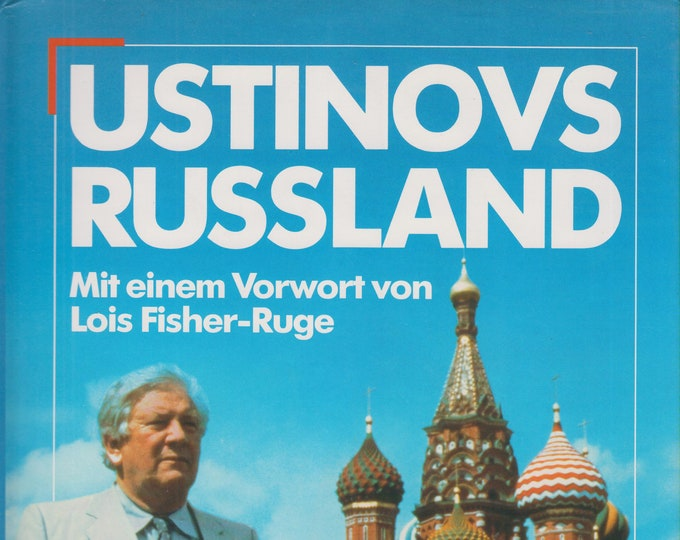 Ustinvos Russland   (Hardcover:  Travel. Germany Language, Russia) 1988