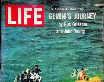 Life April 2, 1965 Gemini's Journey by Gus Grissom & John Young,  Robert F. Kennedy, The Hermitage, Bill Bradley  (Magazine: History, News)