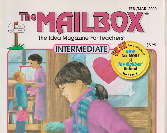 The Mailbox Intermediate February March 2000 Book Report Ideas, Math Projects, Earthquakes, Cruise (Magazine:  Educational, Teaching)