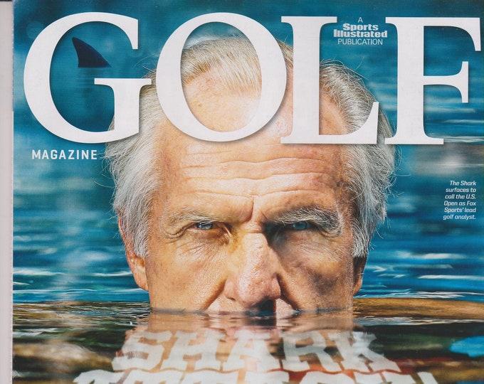 Golf July 2015 Shark Attack Greg Norman, The New Voice of Golf (Magazine: Golf, Sports)
