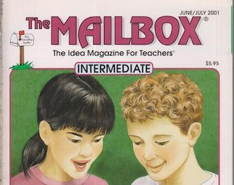 The Mailbox Intermediate June July 2001 Vocabulary Builders, Math Games, Wonders of the World (Magazine:  Educational, Teaching)