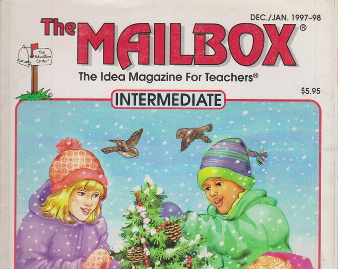 The Mailbox Intermediate December 1997 January 1998 Graphing, The Revolutionary War, Science Fair Ideas  (Magazine:  Educational, Teaching)