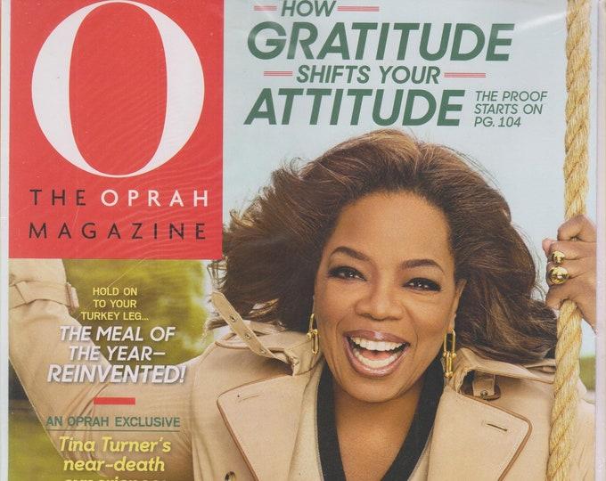O Magazine November 2018 How Gratitude Shifts Your Attitude (Magazine, Self-Help, Inspiration)