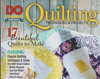 Do Magazine Presents Quilting Techniques & Projects  (Softcover: Crafts, Quilting)