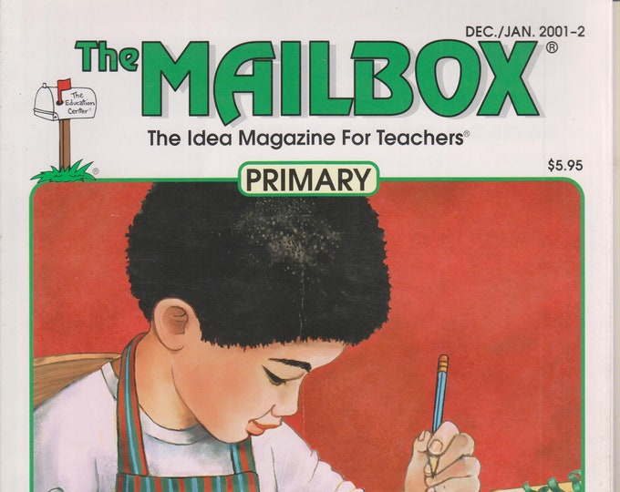 The Mailbox Primary December 2001 January 2002 Candles, Generosity, Sound, Revising Writing, Math   (Magazine:  Educational, Teaching)