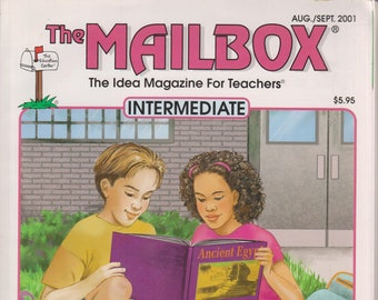 The Mailbox Intermediate August  September 2001 Simple & Compound Sentences, Multiplication, Science  (Magazine:  Educational, Teaching)