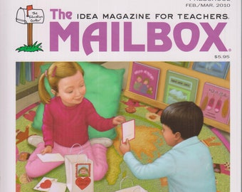 The Mailbox February/March 2010 Preschool - Clouds, Nutrition, Home Centers (Softcover: Children's, Preschool  Educational, Teaching)