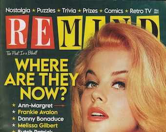 ReMIND may 2021 Where Are They Now? 40 Of Your Favorite Stars (Magazine: Nostalgia, Puzzles, Celebrities)