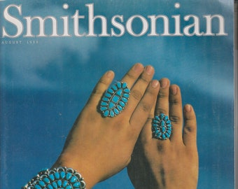 Smithsonian August 1999 The Enduring Allure of Turquoise  (Magazine: History, General Interest)