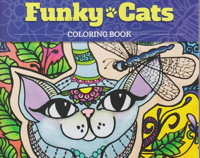Funky Cats Coloring Book (Coloring Book)  2016