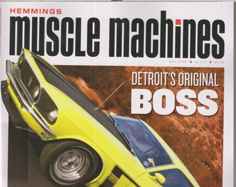 Hemmings Muscle Machines May 2020 Mustang Performers  (Magazine: Fast Cars, Automobile)
