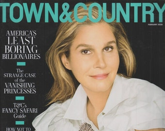 Town & Country February 2020 Aerin Lauder in Jewels That Made History (Magazine: General Interest)