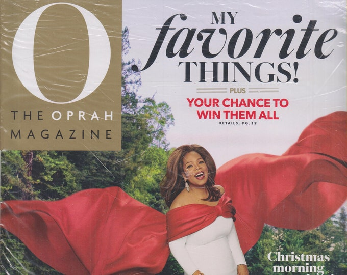 O Magazine December 2019 My Favorite Things!  (Magazine: Self-Help, Inspiration)