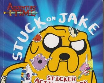 Adventure Time - Stuck on Jake Sticker Activity Book (Softcover: Children's, TV Cartoons, Activity Book)