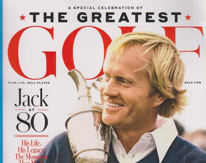 Golf February 2020 Jack Nicklaus The Greatest - Jack At 80  (Magazine: Golf)